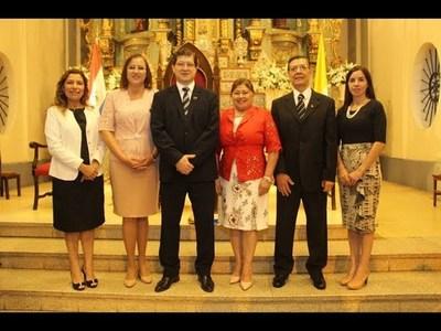PRESENTAN A AUTORIDADES DE LA UNIVERSIDAD CATÓLICA DE ITAPÚA