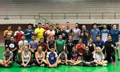 Con casi 40 inscriptos, inician las prácticas de Kick Boxing