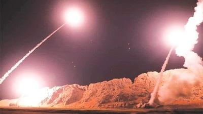 Irán atacó con decenas de misiles instalaciones estadounidenses en Irak