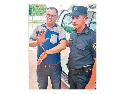 Intendente preso por supuesta instigación a ocupación ilegal