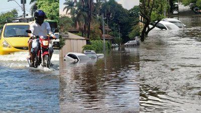 La capital que se inunda con cada lluvia