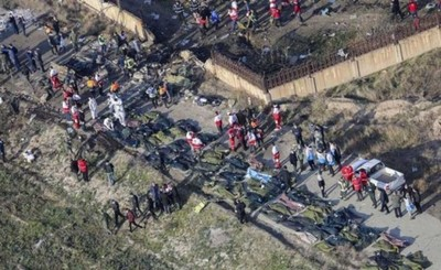Casi 200 muertos en accidente aéreo en Irán