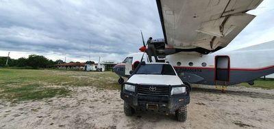 Avión militar de pasajeros sufre percance en el Chaco