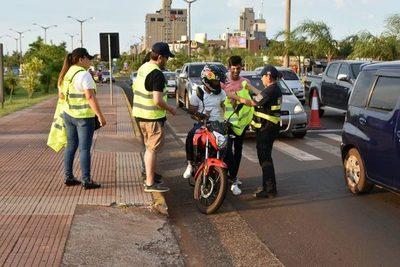 Campaña vial sensibiliza enfocándose en principales factores de riesgo