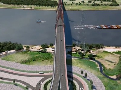 Empresas paraguayas agradecen confianza del Gobierno para construir el puente Asunción- Chaco'i