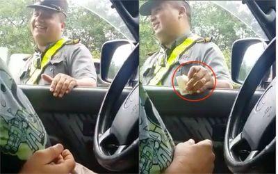 Caminera sumaria a inspector por supuesta coima
