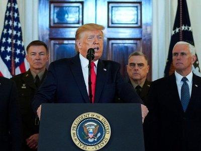 """EEUU va por la cautela militar e Irán rechaza """"guerra"""" y elige """"defensa"""""""