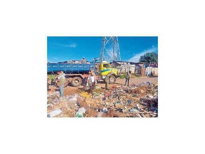 La limpieza de vertederos es reforzada en puntos ribereños