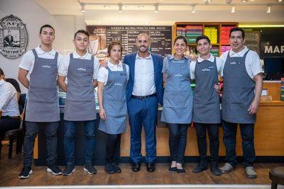 Café Martínez ve al país como ventana al mundo