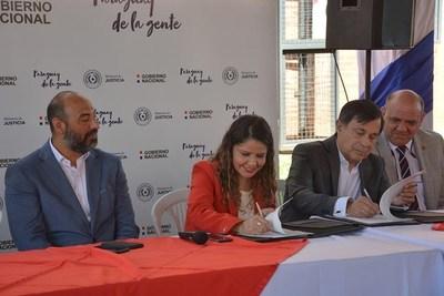 Crearán una escuela de fútbol dentro del Centro Educativo Itauguá