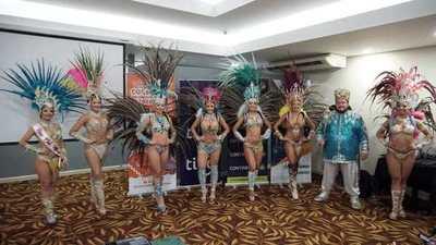 Encarnación promocionó su carnaval en Ciudad del Este