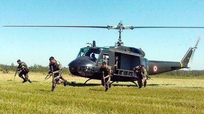 La UNOPS pagará 70% del contrato antes de que los helicópteros lleguen al país