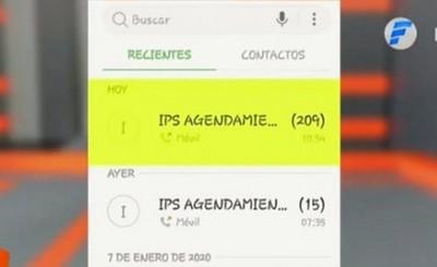 Más de 200 llamadas al Call Center de IPS para consultar en un mes