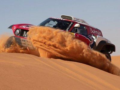 Peterhansel gana sexta etapa del Rally Dakar