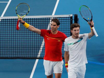 España avanza a las semifinales de la ATP Cup