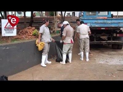 ELIMINAN CRIADEROS DE DENGUE EN EL HOSPITAL REGIONAL DE ENCARNACIÓN