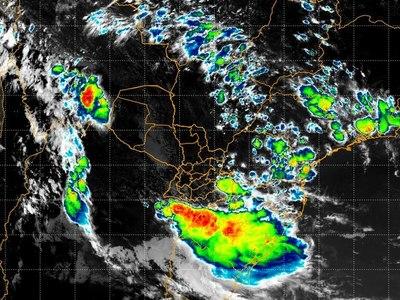 Alerta de tiempo severo para el sur del país