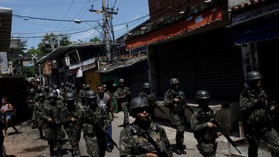 Cuatro muertos y siete presos en operación antidrogas en favela de Río