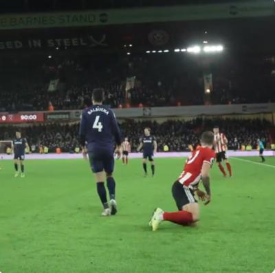El West Ham de Balbuena cayó ante el Sheffield y se complica
