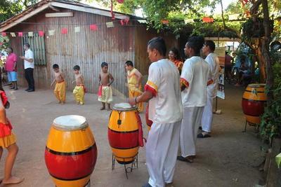 Afrodescendientes danzan y reivindican visibilidad en el Festival de Kamba Cuá