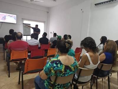 Realizan primera charla sobre proyecto turístico en el barrio Obrero