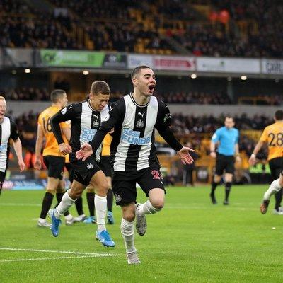 Almirón anota su tercer gol con Newcastle