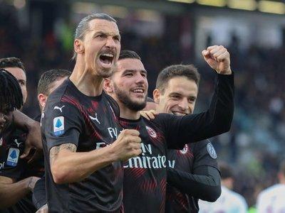 Ibrahimovic rompe la sequía del Milan