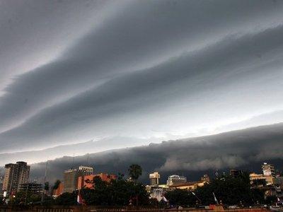 Anuncian tormentas eléctricas para seis departamentos
