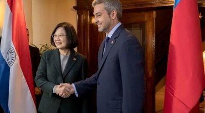 Abdo felicita a Tsai Ing-Wen por su reelección en Taiwán