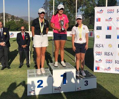 Giovanna Fernández se cuelga la medalla de bronce en Chile