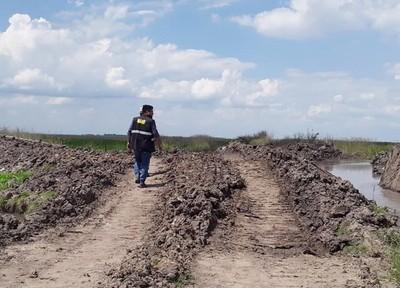 MADES constata desvíos de cauces hídricos en Misiones