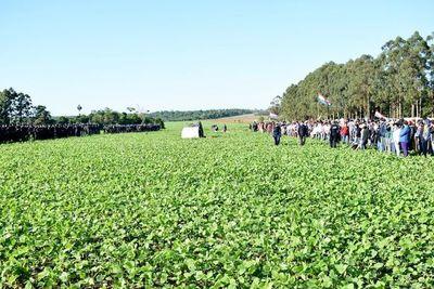 Caaguazú: productores denuncian invasión y exigen celeridad a Indert
