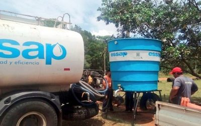 ESSAP instalará 12.000 tanques domiciliarios para garantizar servicio