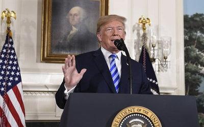 """Trump exige detener la """"matanza"""" de manifestantes en Irán"""