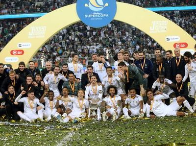 Real Madrid suma otro título de la mano de Zidane
