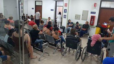 Urgencias de IPS rebasada por pacientes con cuadros de dengue