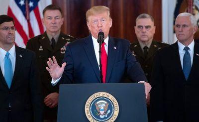 "Trump advierte a Irán: ""No maten a sus manifestantes"""