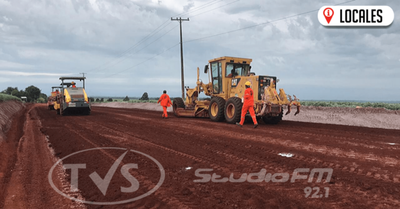 Pavimentación asfáltica de 28 km beneficiará a más de 30 mil productores en Itapúa
