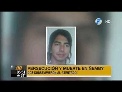 Sicarios matan a joven de 21 años en Ñemby