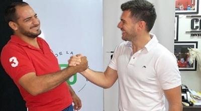 Carlos Viveros le dio la bienvenida a Naldy Cabrera a su partido político