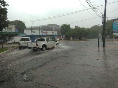 Sigue amenaza de tormentas severas en nueve departamentos
