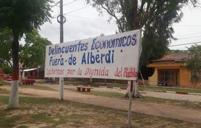 Denuncian sistema de extorsión en Alberdi