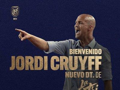 Ecuador anuncia a su nuevo técnico: Jordi Cruyff