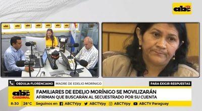 Familiares de Edelio Morínigo anuncian búsqueda y manifestaciones