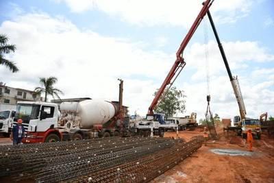 Realizan estricto control de calidad de materiales en obras del Multiviaducto del km 7 de CDE