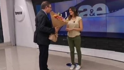 El detalle de Carlos Martini para Lucía Sapena por su cumpleaños