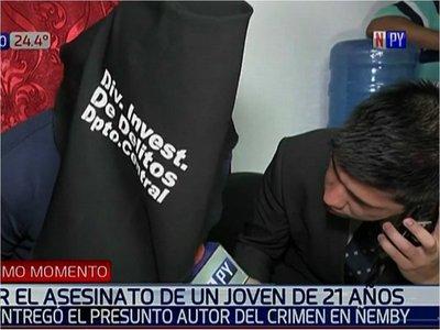 Presunto autor del crimen en Ñemby se abstuvo de declarar