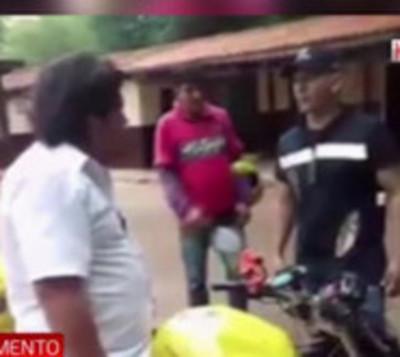 Agentes de la PMT dan paliza a Kelembú