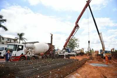 Realizan estricto control de calidad de materiales en obras del multiviaducto de CDE