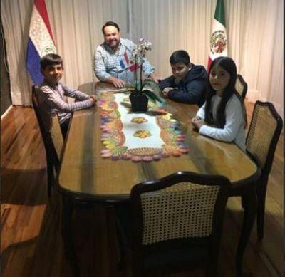 Estudiantes paraguayos son destaque en México